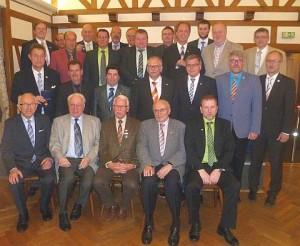 Gruppenfoto der ehrenamtlichen Helfer